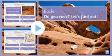 Rocks Quiz PowerPoint