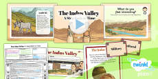 PlanIt - History UKS2 - The Indus Valley Lesson 3: A Step Back in Time Lesson Pack