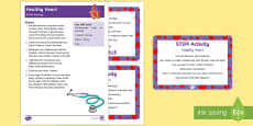 Healthy Heart STEM Activity and Prompt Card Pack