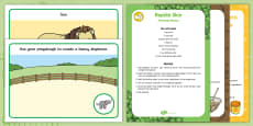 Playdough Recipe and Mat Pack to Support Teaching on Dear Zoo
