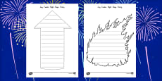 Guy Fawkes Night Shape Poetry