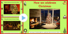 How We Celebrate Christmas PowerPoint