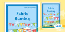 D&T: Fabric Bunting KS1 Unit Book Cover