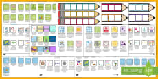 Australian Maths Pencil Targets Assessment Trackers Resource Pack