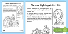Florence Nightingale Significant Individual Fact Sheet