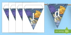 World Oceans Day Display Bunting