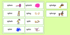 SPL Word Cards