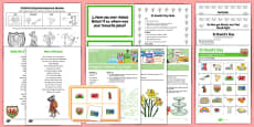Elderly Care St David's Day Resource Pack