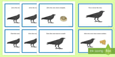 Initial 'cr' Word Story Cards