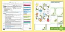 EYFS Caterpillar Questioning Adult Input Plan and Resource Pack