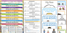 EYFS All About Me And Ourselves Lesson Plan Enhancement Ideas and Resources Pack