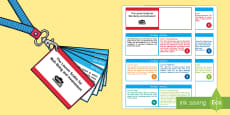 Lanyard-Sized Leuven Scales for Well-Being and Involvement Cards