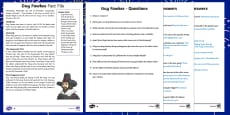 Guy Fawkes KS2 Differentiated Reading Comprehension Activity