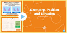 Y6 Geometry Position and Direction Warm-Up PowerPoint