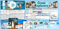 History: Great Explorers KS1 Unit Pack