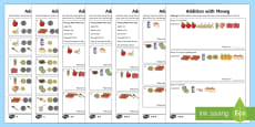 Addition With Money Differentiated Activity Sheets