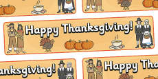 Thanksgiving Display Banner 2