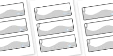 Cygnet Themed Editable Drawer-Peg-Name Labels (Colourful)