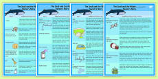 The Snail and the Whale Sensory Story Sheet