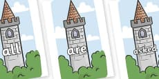 Tricky Words on Towers