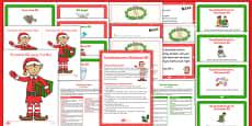 Christmas Elf Resource Pack