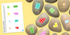 Number Shapes to Twenty Story Stones Printable