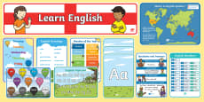 Learn English Display Pack