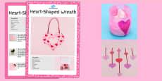 Valentine's Day Craft Activity Pack