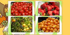 Harvest Fruit and Vegetable Display Photos (Italian)