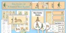 Beatrix Potter - The Story of a Fierce Bad Rabbit Resource Pack
