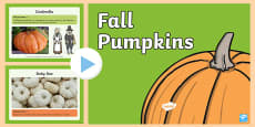 Fall Pumpkins PowerPoint