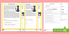 * NEW * Halloween Reading Comprehension Activity Pack English/Hindi
