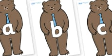 Phoneme Set on Daddy Bear