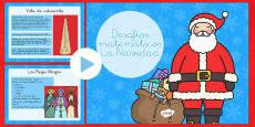 Desafíos matemáticos - La Navidad