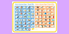 Active Literacy Stage 1 and 2 Combined Sound Mat Large
