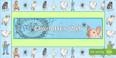 Charlotte's Web Display Borders
