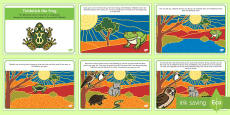 Tiddalick the Frog Story Cards