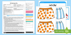EYFS Rescue the Underpants Adult Input Plan and Resource Pack to Support Teaching on Aliens Love Underpants