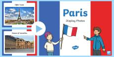 Paris Display Photo PowerPoint