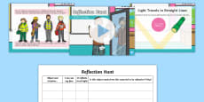 Reflection Hunt PowerPoint