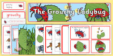 The Grouchy Ladybug Story Sack