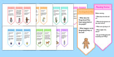 Y1 Guided Reading with Traditional Tales bookmarks