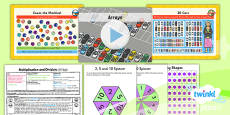 PlanIt Y1 Multiplication and Division Lesson Pack Arrays