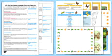 EYFS Discovery Sack Plan and Resource Pack to Support Teaching on The Very Hungry Caterpillar
