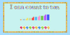 Ready Made I Can Count To Ten Display Pack