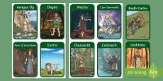 Irish Celtic Gods Flashcards