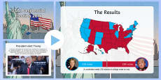 USA Presidential Election 2016 Results PowerPoint