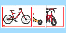 Bicycle Area A4 Display Posters