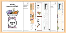 Year 1 Maths Assessment Pack Term 3