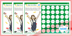 PlanIt Y3 Addition and Subtraction Four-in-a-Row Differentiated Home Learning Tasks